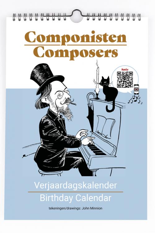 Cadeautips componisten verjaardagskalender met QR codes